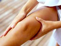 se masser les jambes pour améliorer la cicruclation du sang