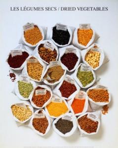 Les légumes secs sources de cuivre