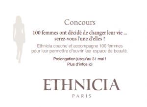 """Concours """"100 femmes ont décidé de changer leur vie"""" - Etchnica"""