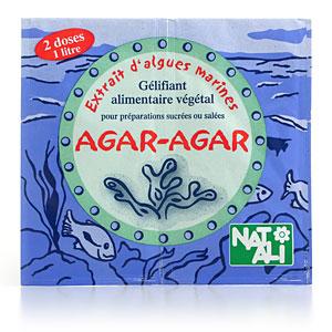 agar-agar pour lutter contre les calories