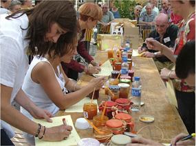 Concours de la meilleure confiture à la fête de l'abricot à Rivesaltes
