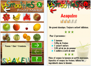 Happy Smoothies sur IPhone