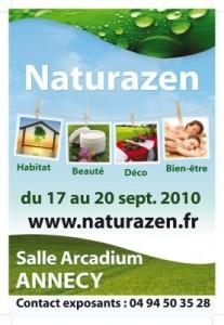 Naturazen Annecy 17 au 20 sept 2010