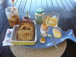 Petit déjeuner phase d'attaque Dukan