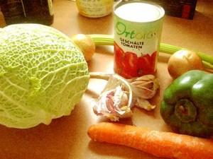 régime soupe au chou - recette