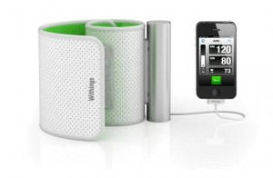 ensiomètre Withings pour iphone