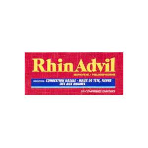 le rhinadvil contiendrait des parabènes