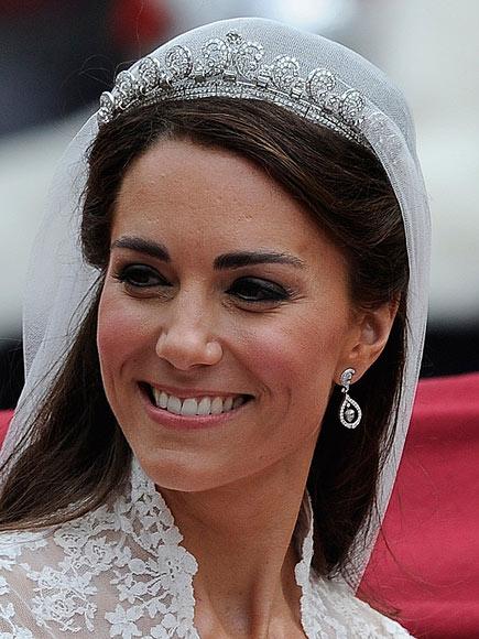 Coiffure mariage Kate Middleton