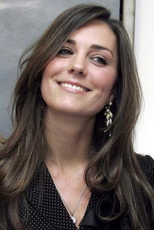 Coiffure Kate Middleton avant son mariage