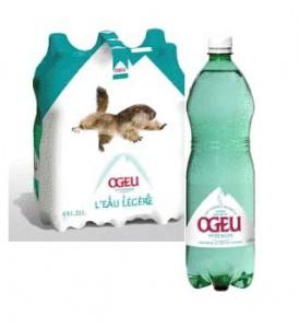 eau gazeuse OGEU