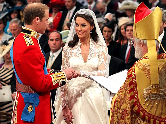 Le parfum de Kate Middleton à son mariage