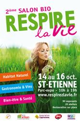 salon bio et bien être : Respirez la vie - Saint Etienne