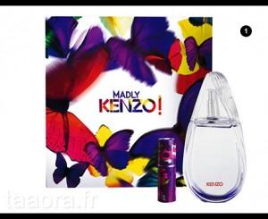 Coffret parfum Madly Kenzo