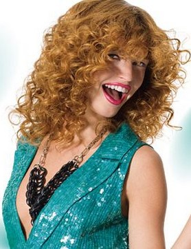 Couleur de cheveux blond vénitien