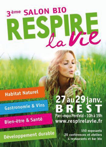 Salon Bio et Bien-Etre : Respirez la Vie - Brest
