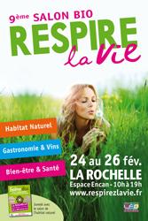 Salon Bio et BIen Etre : Respirez la Vie - La Rochelle