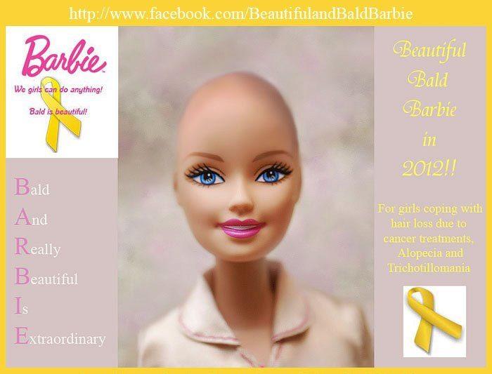 Une Barbie Chauve