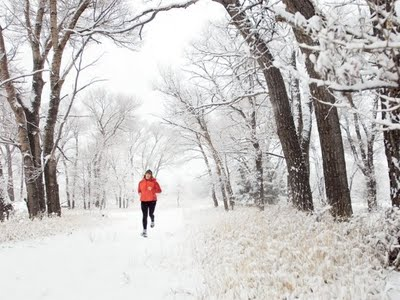 jogging par grand froid