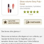 Application Yves Rocher pour iPhone