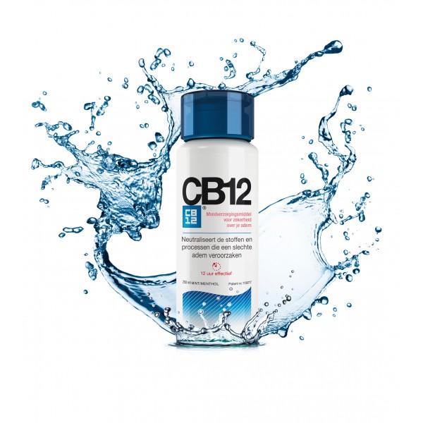 CB12 contre la mauvaise haleine
