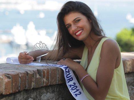 coiffure Miss Côte d'Azur 2012