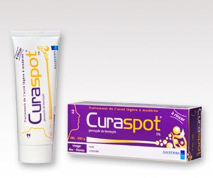 Curaspot contre l'acné