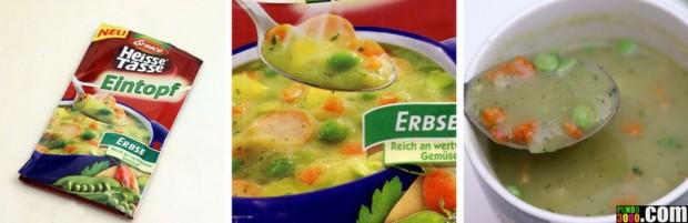 Différences entre photos emballages de produits alimentaires et réalité