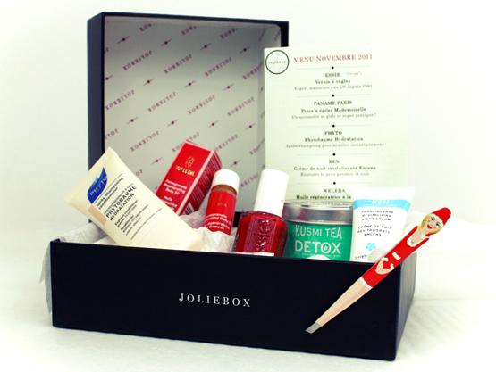Box beauté : JolieBox