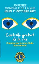 La Journée mondiale de la vue