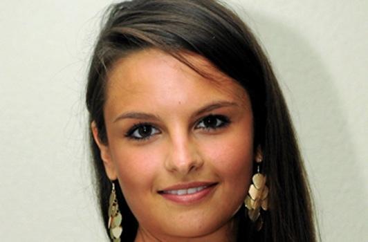 coiffure de Miss Languedoc 2012