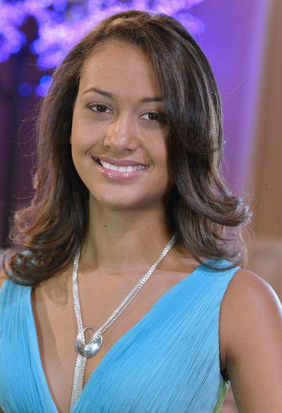 coiffure de Miss Réunion 2012