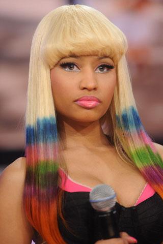 tie and dye Nicky Minaj