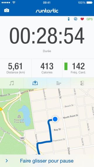 appli sport- Runtastic Pro