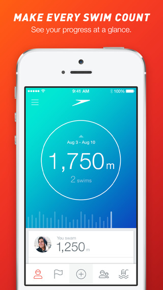 appli sport - speedo fit