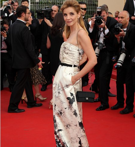 Coiffure Clotilde Courau Cannes 2012
