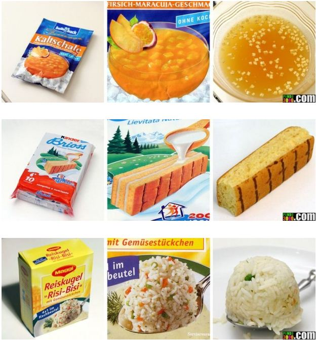 emballages produits alimentaires et realite