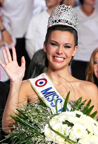 maquillage de Marine Lorphelin Miss France 2013