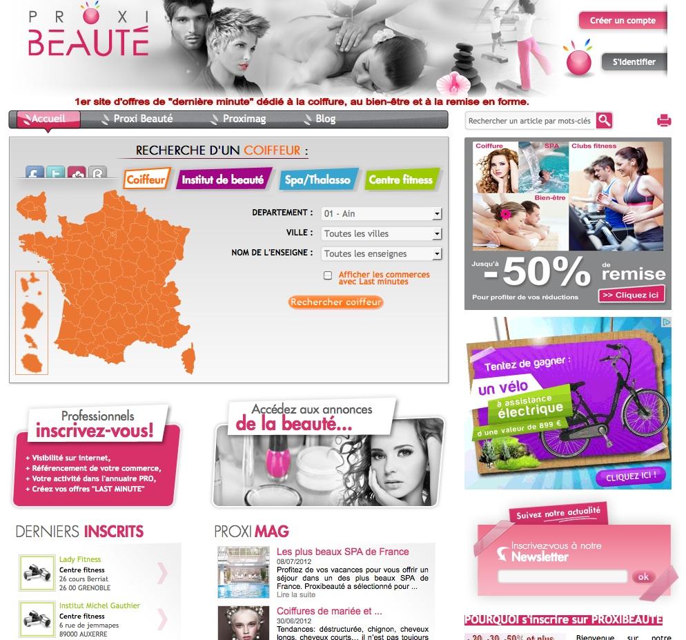 site Proxibeauté